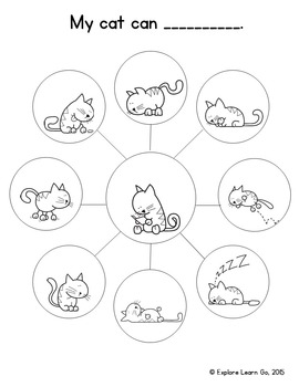 Amazing Cat & Incredible Dog Emergent Readers with Interactive Literacy Fun