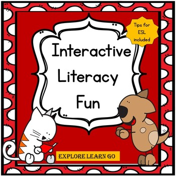 Amazing Cat & Incredible Dog Emergent Readers with Interac