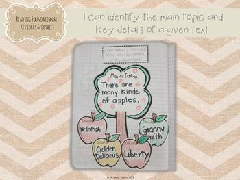 Interactive Literacy Notebook Seasonal Supplements (Apples & Pumpkins)