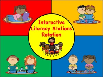 Interactive Literacy Stations Rotation