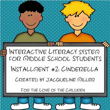 Test Prep and Interactive PowerPoint Bundle Installment #2: Cinderella