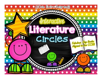 Interactive Literature Circles: Fabulous Flap Books Aligned to the CCSS!
