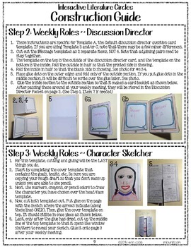 Interactive Literature Circles for Grades 4-8 {& Traditional Literature Circles}