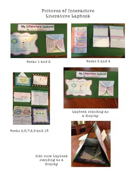 Interactive Literature Lapbook 3rd Grade Common Core Aligned
