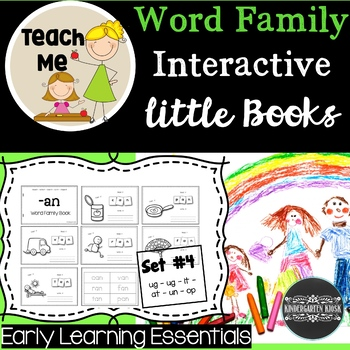 Interactive Little Books: Set 4