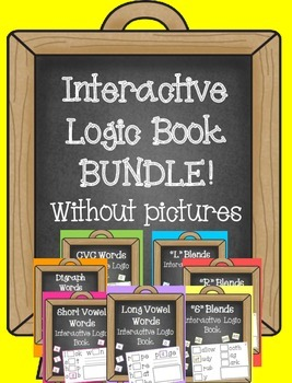 Interactive Logic Book BUNDLE!...WITHOUT pictures