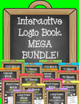 Interactive Logic Book MEGA BUNDLE!