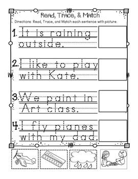 Interactive Long A for Reader's Notebook