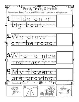 Interactive Long O for Reader's Notebook