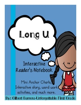 Interactive Long U for Reader's Notebook