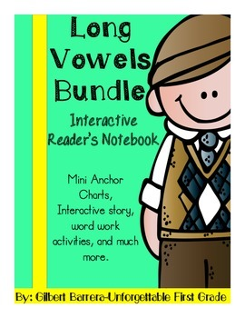 Interactive Long Vowels Bundle for Reader's Notebook