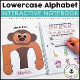 Interactive Alphabet Notebook | Lowercase Alphabet Letter Craft Activities