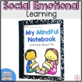 Mindfulness Notebook Print & Google Classroom™ Distance Learning Bundle