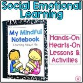 Mindfulness Notebook Print & Google Classroom™ Distance Learning Bundle
