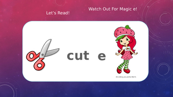 """Interactive Magic or Sneak """"e"""", Long and Short Vowel Sounds"""