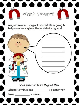 Interactive Magnet Mania Science Notebook