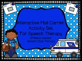 Interactive Mail Carrier Activities for Speech Therapy