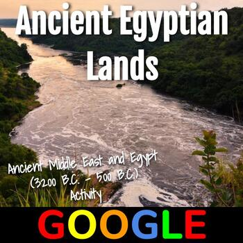 Interactive Map: Ancient Egyptian Lands