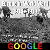 Interactive Map: Europe in World War I (1914–1918)
