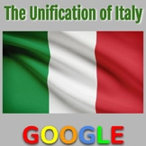 Interactive Map & Gallery: Unification of Italy
