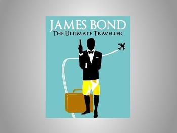Interactive Map: James Bond's travels