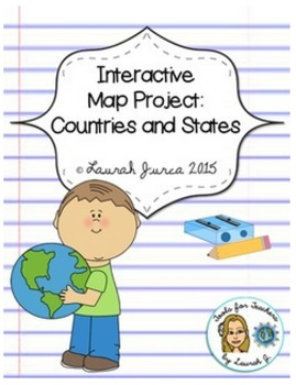 Web 2.0 Interactive Map Project: Countries and States {Technology Integrated}