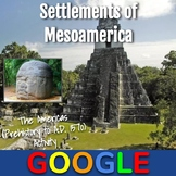 Interactive Map: Settlements of Civilizations in Mesoamerica