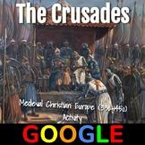 Interactive Map: The Crusades (1096–1204)