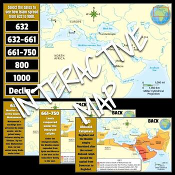 Interactive Map: The Spread of Islam