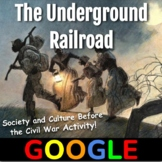 Interactive Map: The Underground Railroad