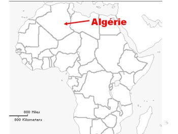 Francophone Africa Map.Interactive Map Of Francophone Africa By Catherine Durand Tpt