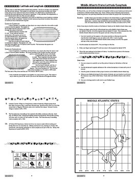 Geography Map Skills ULTIMATE Interactive Notebook Bundle (SIX Mapping Units!)