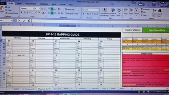 Interactive Mapping & Lesson Planning Program for 2014-15