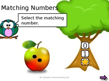 Interactive Matching Numbers 1 to 10