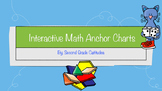 Interactive Math Anchor Charts- FREEBIE!