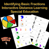 Interactive Math Basic Fractions Special Education Google