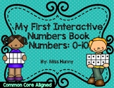 Interactive Math Number Books  0-10 ( Preview)