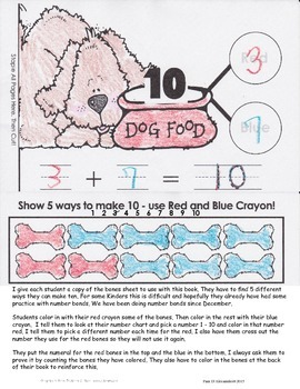 Interactive Math Books - Adding - Making 10 - Number Bonds