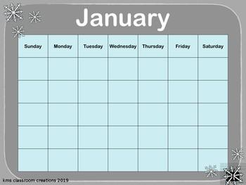 Interactive Calendar Powerpoint