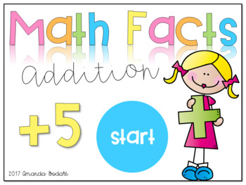 Interactive Math Facts Games-Addition