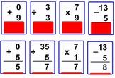 Interactive Math Flash Cards