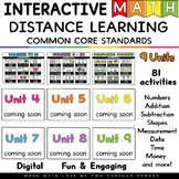 Interactive Math GROWING BUNDLE for Google & Seesaw
