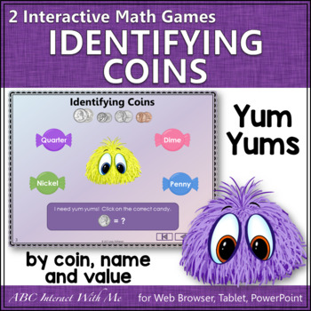 Identifying Coins Worksheet Teaching Resources | Teachers Pay Teachers