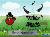 Interactive Math Games--Turkey Whack Bundle