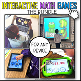 Interactive Math Games BUNDLE
