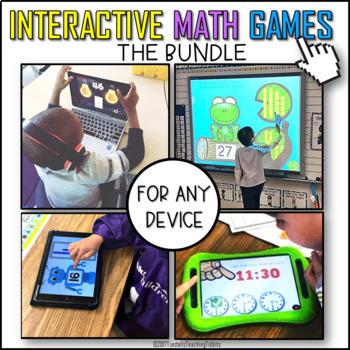 Interactive Math Games BUNDLE