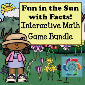 Interactive Math Games Bundle- Fun in the Sun with Facts