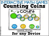 Interactive Math Games Coins