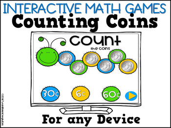 Interactive Math Games Coins