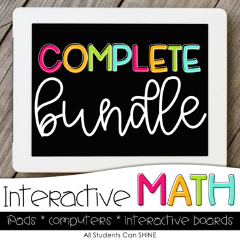 Interactive Math Games COMPLETE BUNDLE